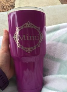 personalized yeti cup
