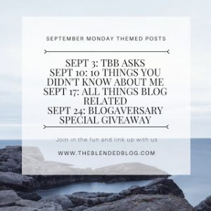 Themed Posts for September